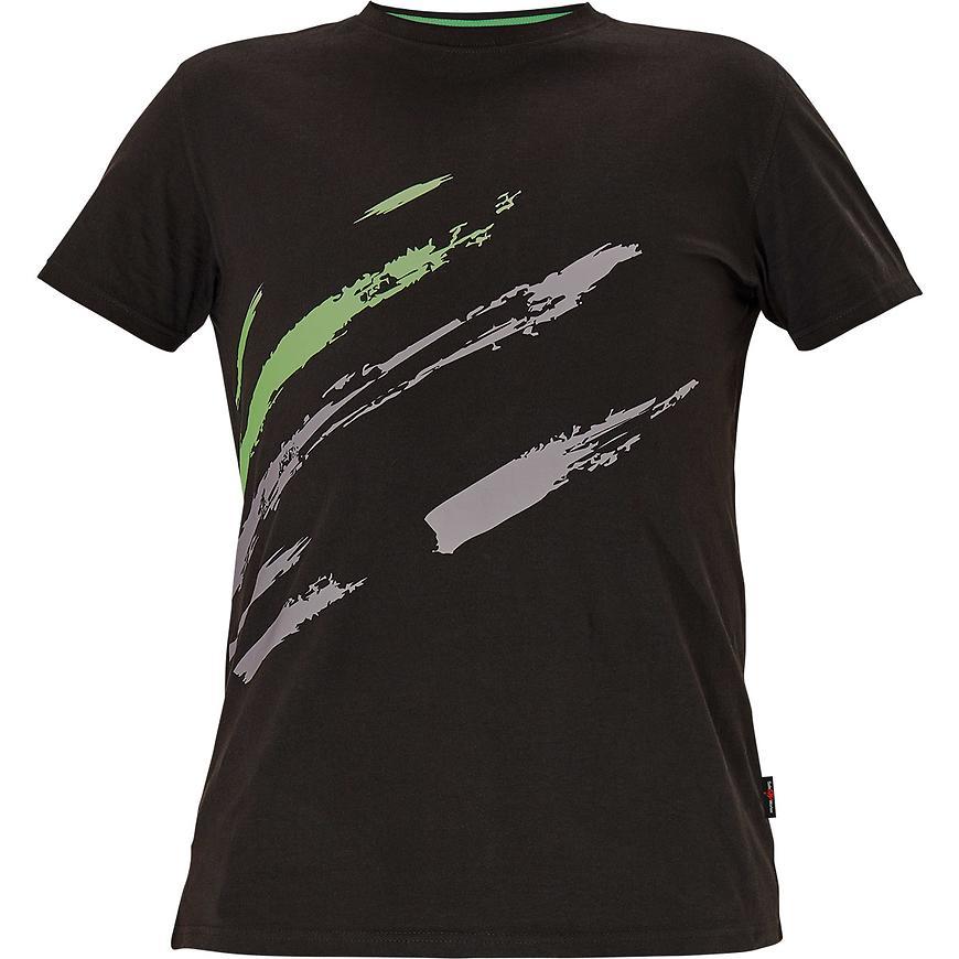Maas Triko černá/zelená XXL