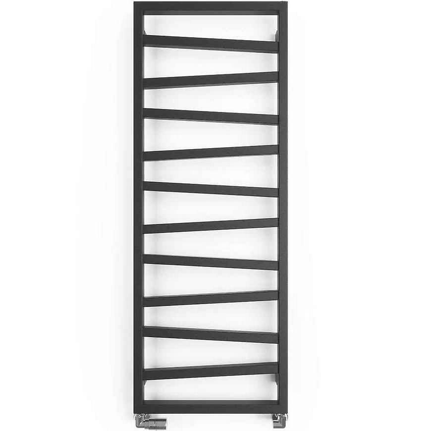 Koupelnový radiátor ZAG 2 metallic black 1334/500 490 W