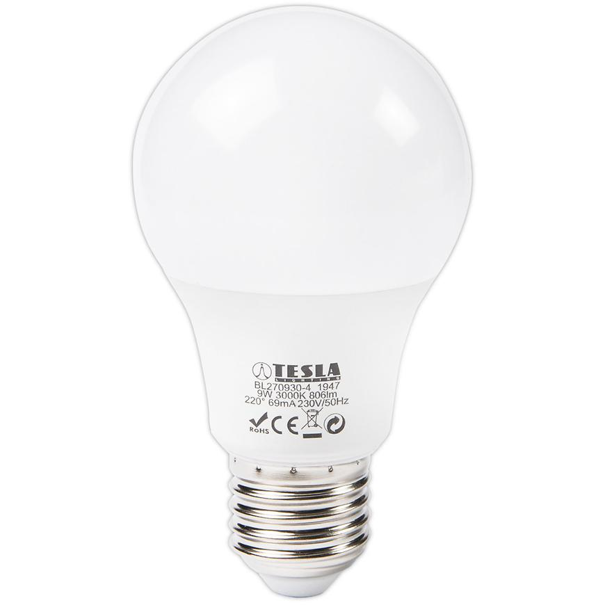 LED žárovka Bulb 9W E27 3000K