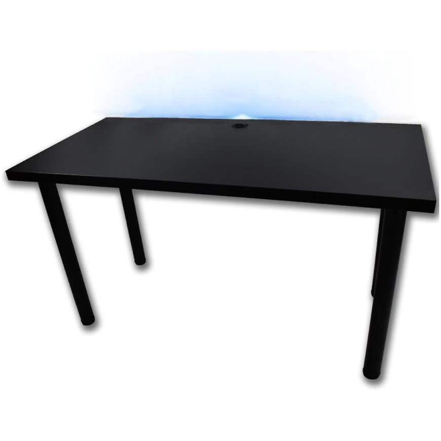 Psací Stůl Pro Hráča 136cm Model 2 Černá Nízký
