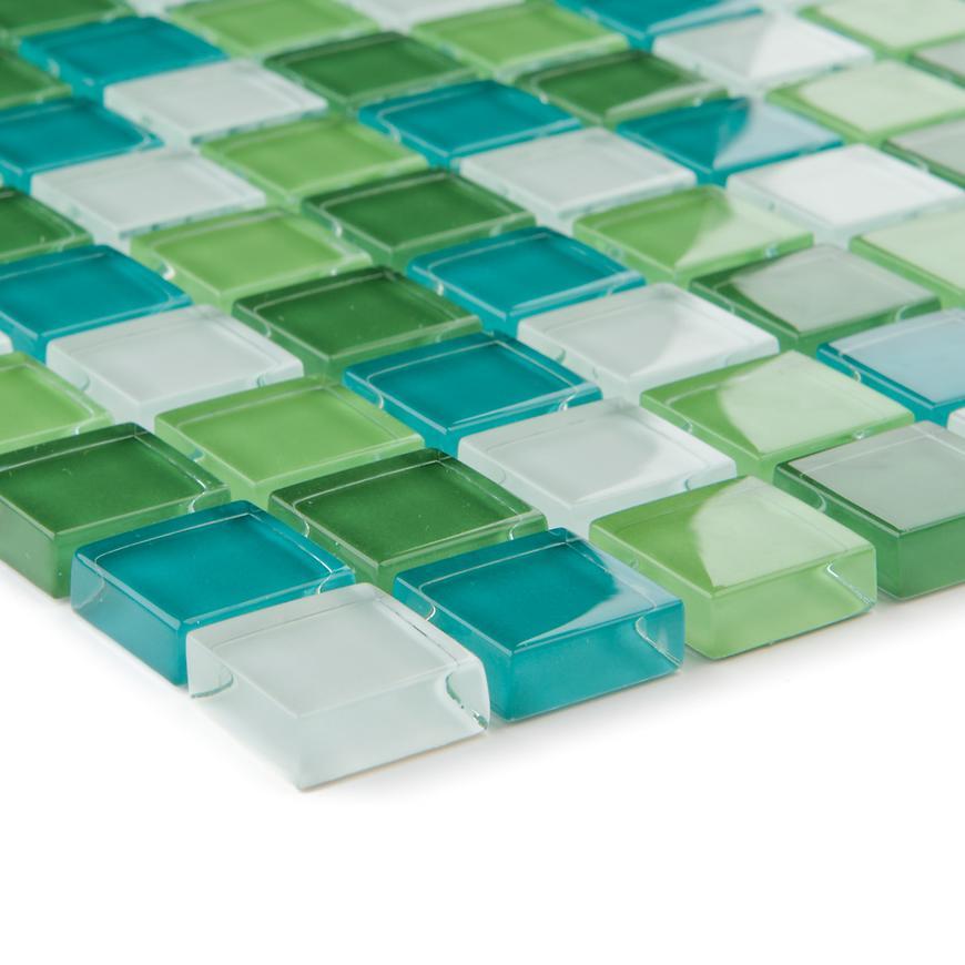 Mozaika zelená bila 29303 30x30x0,8