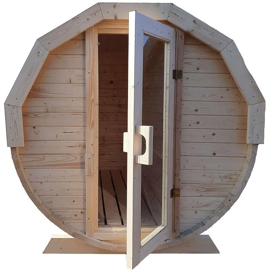 Dřevěná sauna – sud