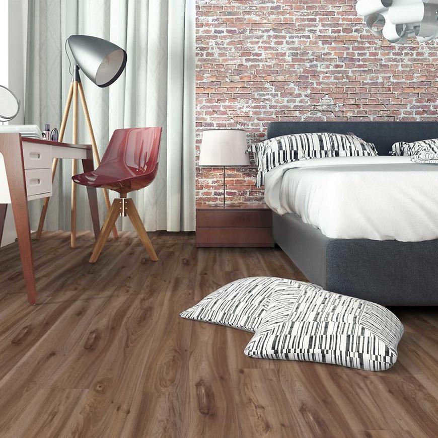 Laminátová plovoucí podlaha Progress 10mm AC4 Orech Americký  3789